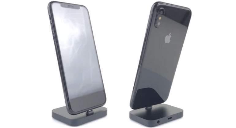 c1897ce57f4 Se espera que el iPhone 8 cambie su diseño metálico por una terminación en  cristal, lo que permitiría incorporar un sistema de carga inalámbrica en el  ...