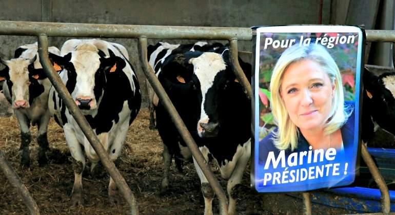 La crisis más profunda en la agricultura francesa en décadas podría llevar a Le Pen a la presidencia