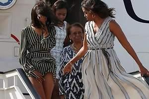 Malia Obama lo enseña todo