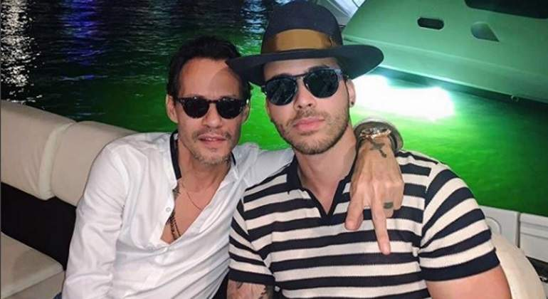 Prince Royce y Marc Anthony