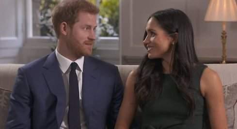 Primeras declaraciones de Harry y Meghan Markle: Me pidió matrimonio mientras asaba pollo