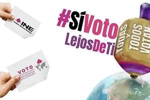 Solo el 1% de los mexicanos en el extranjero votará en las elecciones