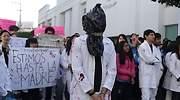protesta estudiantes medicina uber asesinados
