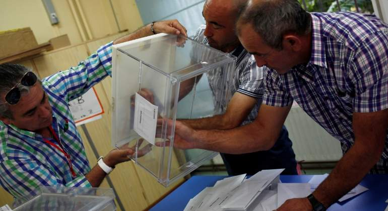 Cataluña, Galicia y País Vasco ya están listas para a votar
