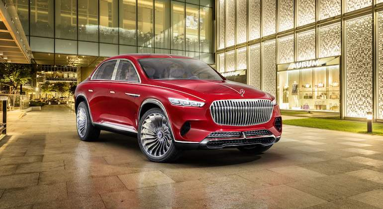 Vision Mercedes-Maybach Ultimate Luxury: nueva forma de entender el SUV