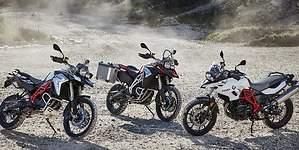BMW introduce mejoras en sus motos trail de cilindrada media