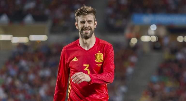 ¿Jugarían Piqué y otros catalanes con España el Mundial de Rusia si  Cataluña se independiza antes  200de99405071