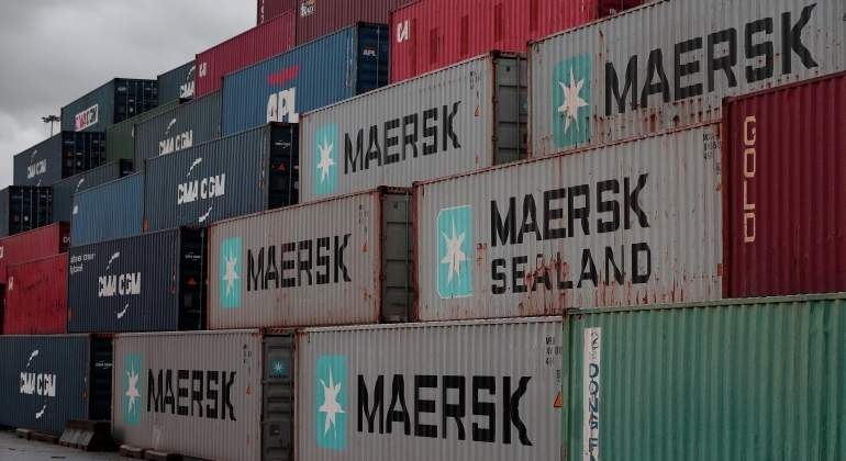 Maersk cae beneficio