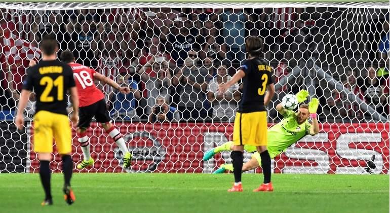 ab006eb59fcdf El Atlético de Madrid jugará de negro en el encuentro de Champions en el  Bernabéu - EcoDiario.es