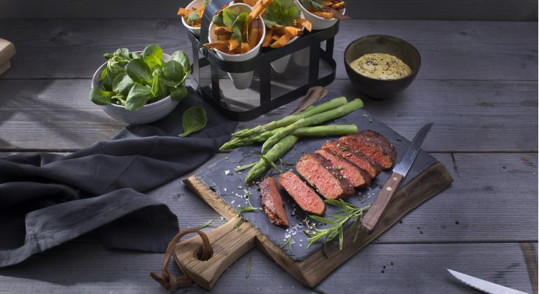 Un filete 100% vegano con todo el sabor de un 'bistec'