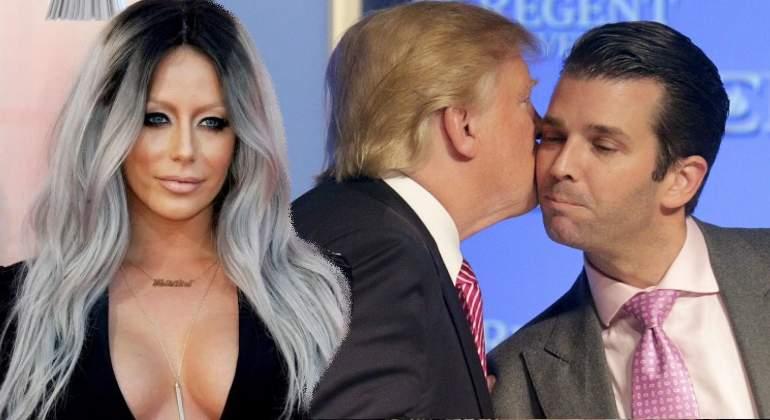 El amorío de Donald Trump Jr. que enfureció a su padre