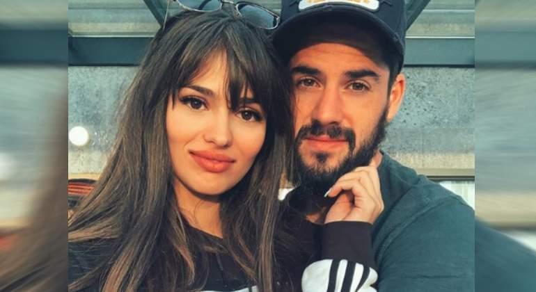 777257f17 Sara Sálamo e Isco Alarcón anuncian el sexo de su bebé