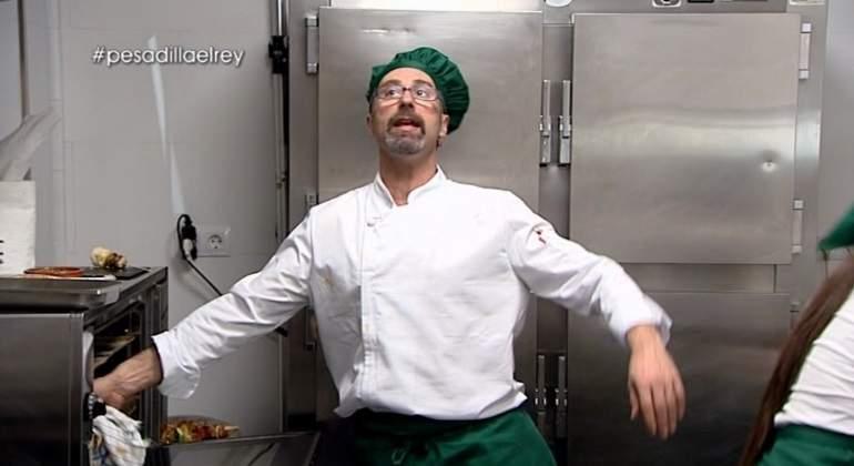Chicote testigo del despido a un cocinero en su ltima for Pesadilla en la cocina el rey