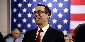 Mnuchin cree que Wall Street caerá sin bajada de impuestos