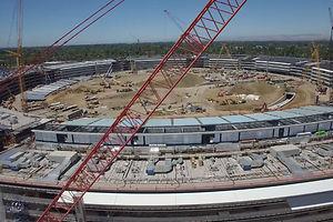 La sede de Apple, a vista de dron