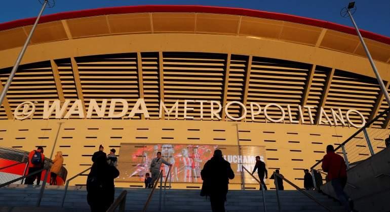 Wanda podr a dejar de patrocinar el metropolitano esta for Puerta 3 wanda metropolitano