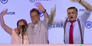 Wyoming: ¡Rajoy vas a gobernar en plasma!