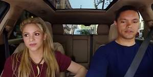 La imprudencia vial de Shakira en el Carpool Karaoke por Barcelona