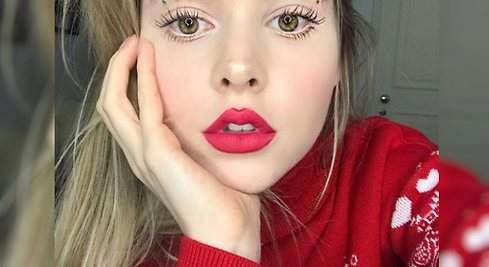 Cejas navideñas, la última tendencia en Instagram