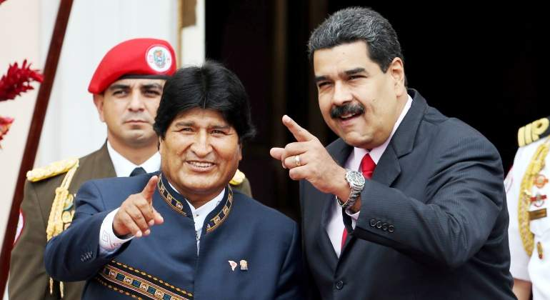 Paises se unen para hacer la paz en Venezuela .
