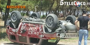 Jesús Quintero sufre un aparatoso accidente