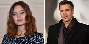 ¿Está saliendo Brad Pitt con Ella Purnel?
