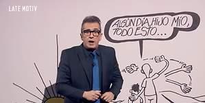 El emotivo (y viral) homenaje que Andreu Buenafuente hizo a Forges en su programa