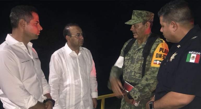 EPN expresa condolencias por accidente de helicóptero en Oaxaca