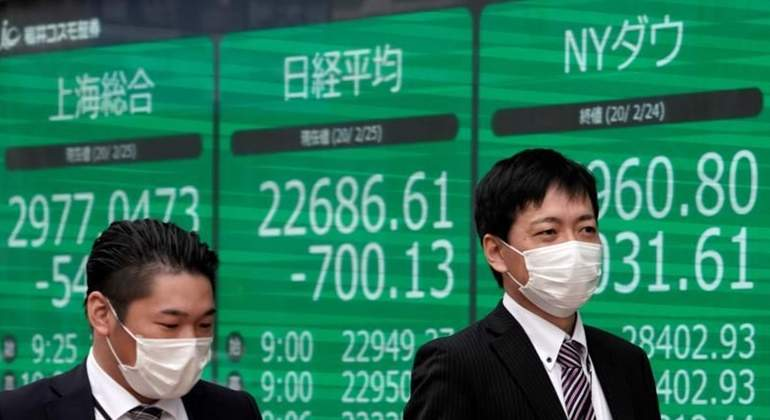 PREMERCADO: no descartan impacto mayor en bolsas europeas y Nikkei cae 3%