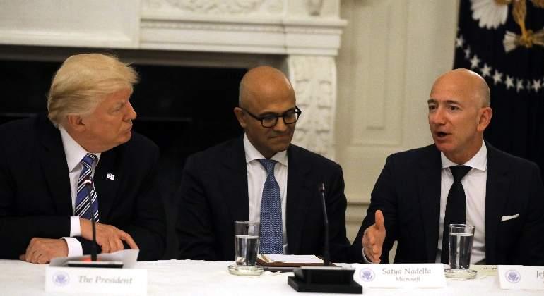 Donald-Trump-Satya-Nadella-Jeff-Bezos-770-reuters.jpg