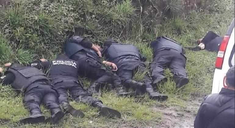 Resultado de imagen de policias asesinados en mexico