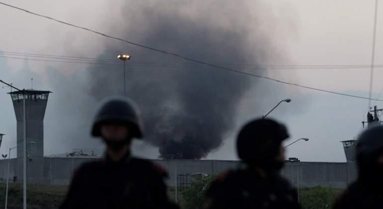 Aumenta a 16 muertos en el Penal de Cadereyta