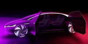 VW I.D. Vizzion: la lujosa berlina eléctrica sin volante para Ginebra