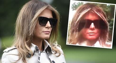 ¿Tiene Melania Trump una doble para los actos públicos?
