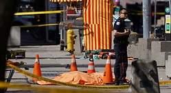 Nueve muertos por un atropello masivo en Toronto