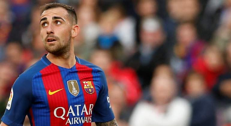 Resultado de imagen para Paco Alcácer salva a un Barcelona