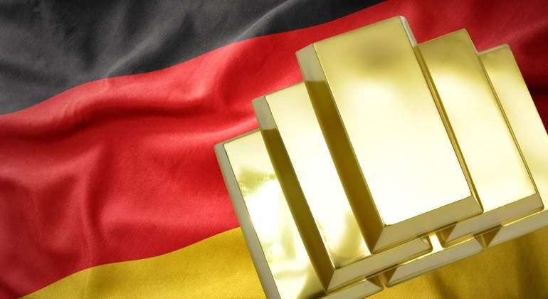 Lingotes de oro Alemania
