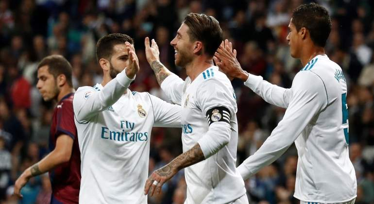 Un Madrid a medio gas se lleva la victoria