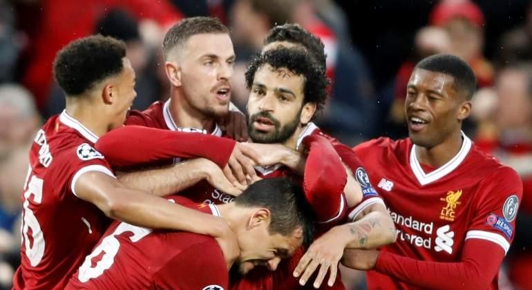 Salah anula a la Roma y ve de cerca la final