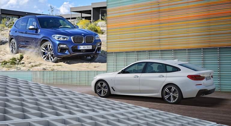 BMW enciende la traca final de 2017 con la llegada de los nuevos X3 y Serie 6 GT