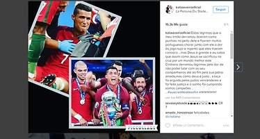 La hermana de Cristiano Ronaldo compara al delantero con Jesucristo
