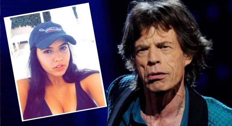 Mick Jagger salió con una joven 52 años menor que él