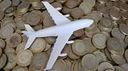 avion-dinero-metalico-hacienda-dreamstime.jpg