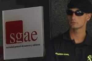 La Policía pide intervenir la SGAE