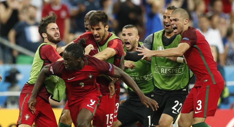 El 1 a 1 de la final: así jugaron los futbolistas de Portugal