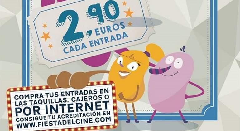 La Fiesta del Cine vuelve los días 16, 17 y 18 de octubre, con entradas a 2,90 euros