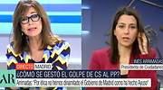 Tensión entre Ana Rosa y Arrimadas por la reacción de Ayuso en Madrid: No estoy de acuerdo