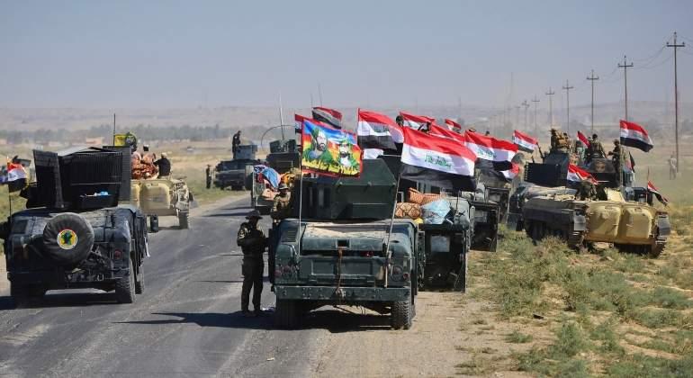 Las fuerzas gubernamentales iraquíes arrebatan la totalidad de Kirkuk a los kurdos