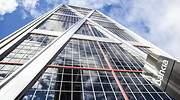 Sede de Bankia en una de las Torres Kio de Madrid