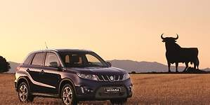 Suzuki se alía con Osborne para lanzar la edición del Vitara más español